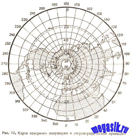 § 14. Сущность картографических проекций. Искажения на картах. Понятие о главнейших картографических проекциях